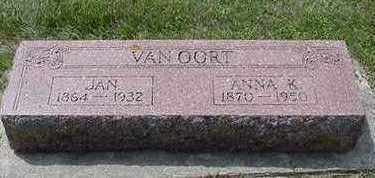 VANOORDT, JAN - Sioux County, Iowa | JAN VANOORDT