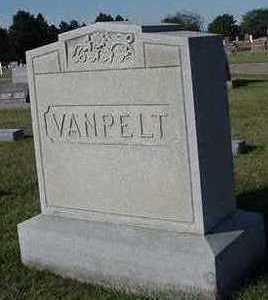 VANPELT, HEADSTONE - Sioux County, Iowa | HEADSTONE VANPELT