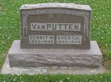 VANPUTTEN, EVERTJE - Sioux County, Iowa | EVERTJE VANPUTTEN