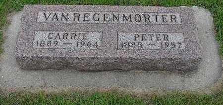 VANREGENMORTER, PETER - Sioux County, Iowa | PETER VANREGENMORTER