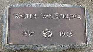 VANREULDER, WALTER - Sioux County, Iowa | WALTER VANREULDER