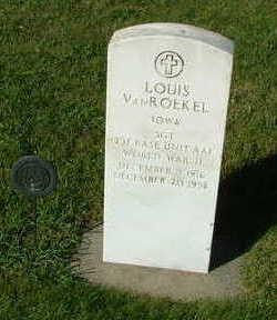 VANROEKEL, LOUIS - Sioux County, Iowa | LOUIS VANROEKEL