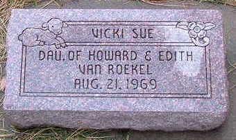 VANROEKEL, VICKIE SUE - Sioux County, Iowa | VICKIE SUE VANROEKEL
