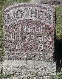 VANROOYEN, JANNIGJE - Sioux County, Iowa | JANNIGJE VANROOYEN