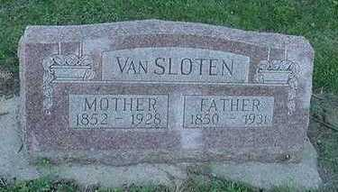 VANSLOTEN, MOTHER - Sioux County, Iowa | MOTHER VANSLOTEN