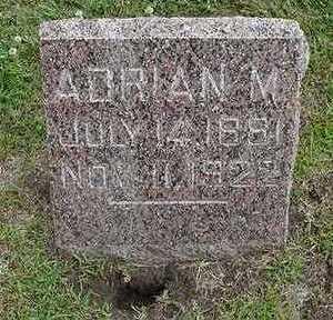 VANSTEENBERGEN, ADRIAN M. - Sioux County, Iowa | ADRIAN M. VANSTEENBERGEN