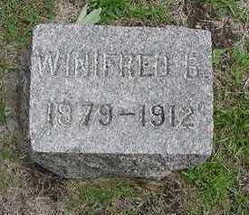 VANSTEENBERGEN, WINIFRED - Sioux County, Iowa | WINIFRED VANSTEENBERGEN