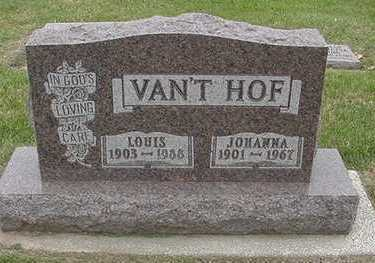 VANTHOF, LOUIS - Sioux County, Iowa | LOUIS VANTHOF