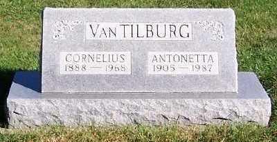 VANTILBURG, CORNELIUS - Sioux County, Iowa | CORNELIUS VANTILBURG