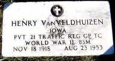 VANVELDHUIZEN, HENRY - Sioux County, Iowa | HENRY VANVELDHUIZEN
