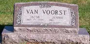 VANVOORST, JACOB - Sioux County, Iowa | JACOB VANVOORST