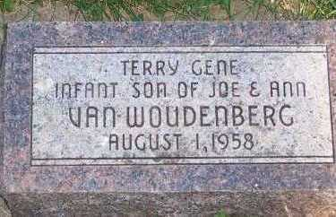 VANWOUDENBURG, TERRY GENE - Sioux County, Iowa | TERRY GENE VANWOUDENBURG