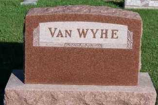 VANWYHE, HEADSTONE - Sioux County, Iowa | HEADSTONE VANWYHE