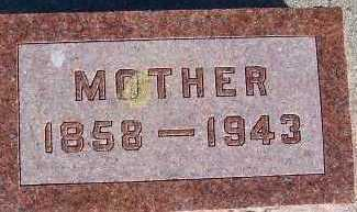 VANWYHE, MOTHER - Sioux County, Iowa | MOTHER VANWYHE