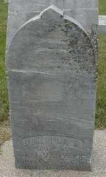 VANWYK, JOHANNA H. - Sioux County, Iowa | JOHANNA H. VANWYK