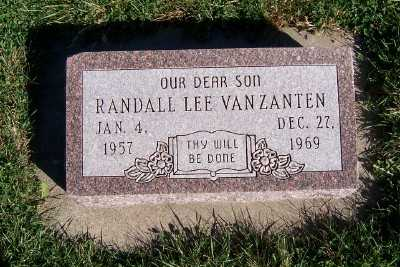 VANZANTEN, RANDALL LEE - Sioux County, Iowa | RANDALL LEE VANZANTEN