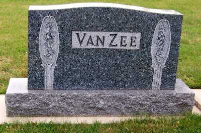 VANZEE, HEADSTONE - Sioux County, Iowa | HEADSTONE VANZEE