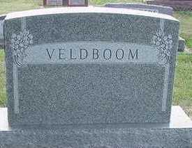 VELDBOOM, HEADSTONE - Sioux County, Iowa | HEADSTONE VELDBOOM