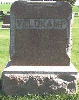 VELDKAMP, HEADSTONE - Sioux County, Iowa | HEADSTONE VELDKAMP