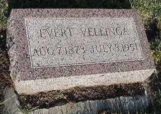 VELLINGA, EVERT - Sioux County, Iowa | EVERT VELLINGA