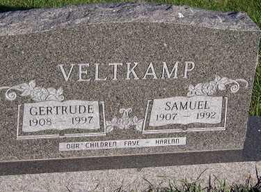 VELTKAMP, GERTRUDE - Sioux County, Iowa | GERTRUDE VELTKAMP