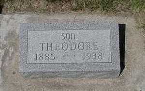 VERBURG, THEODORE  (SON) - Sioux County, Iowa | THEODORE  (SON) VERBURG
