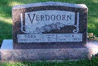 VERDOORN, CORA - Sioux County, Iowa | CORA VERDOORN