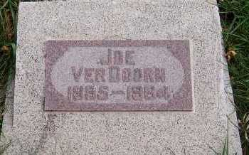 VERDOORN, JOE - Sioux County, Iowa | JOE VERDOORN