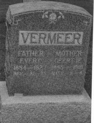 VERMEER, EVERT - Sioux County, Iowa | EVERT VERMEER