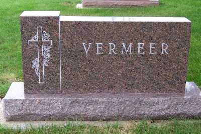 VERMEER, HEADSTONE - Sioux County, Iowa | HEADSTONE VERMEER
