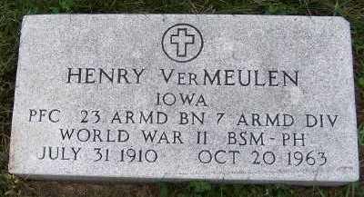 VERMEULEN, HENRY - Sioux County, Iowa | HENRY VERMEULEN
