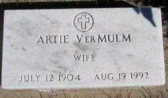 VERMULM, ARTIE - Sioux County, Iowa | ARTIE VERMULM