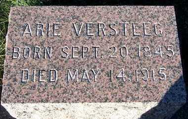 VERSTEEG, ARIE - Sioux County, Iowa | ARIE VERSTEEG