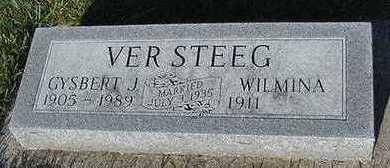 VERSTEEG, GYSBERT J. - Sioux County, Iowa | GYSBERT J. VERSTEEG