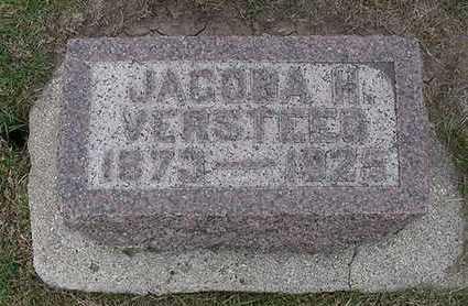 VERSTEEG, JACOBA H. - Sioux County, Iowa | JACOBA H. VERSTEEG