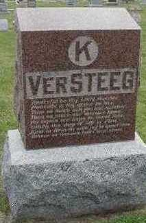 VERSTEEG, K.  HEADSTONE - Sioux County, Iowa | K.  HEADSTONE VERSTEEG