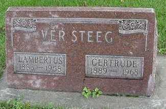 VERSTEEG, GERTRUDE - Sioux County, Iowa | GERTRUDE VERSTEEG