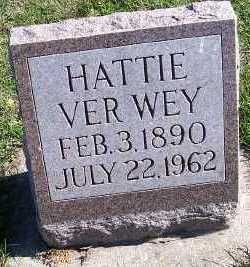 VERWEY, HATTIE - Sioux County, Iowa | HATTIE VERWEY