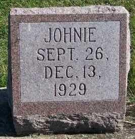 VERWEY, JOHNIE - Sioux County, Iowa   JOHNIE VERWEY