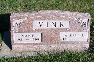 VINK, ALBERT J. - Sioux County, Iowa | ALBERT J. VINK