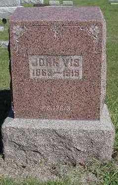 VIS, JOHN - Sioux County, Iowa | JOHN VIS