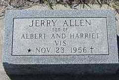 VIS, JERRY ALLEN - Sioux County, Iowa | JERRY ALLEN VIS