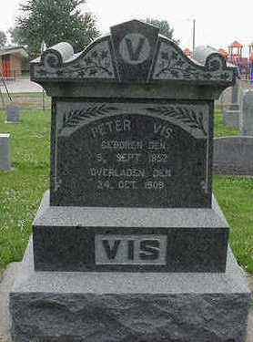 VIS, PETER - Sioux County, Iowa | PETER VIS