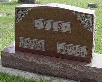 VIS, JOHANNA - Sioux County, Iowa | JOHANNA VIS