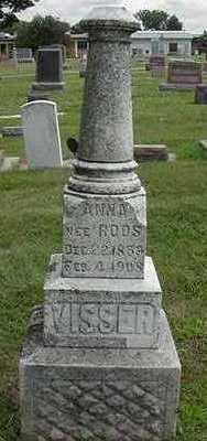 ROOS VISSER, ANNA - Sioux County, Iowa | ANNA ROOS VISSER