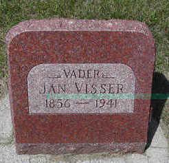 VISSER, JAN - Sioux County, Iowa | JAN VISSER