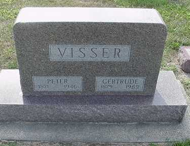 VISSER, PETER - Sioux County, Iowa | PETER VISSER