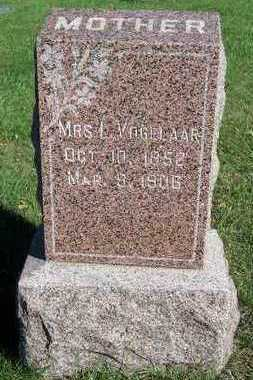 VOGELAAR, MRS. L. - Sioux County, Iowa | MRS. L. VOGELAAR