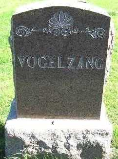 VOGELZANG, HEADSTONE - Sioux County, Iowa | HEADSTONE VOGELZANG