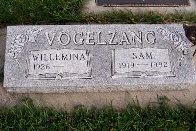 VOGELZANG, SAM - Sioux County, Iowa | SAM VOGELZANG